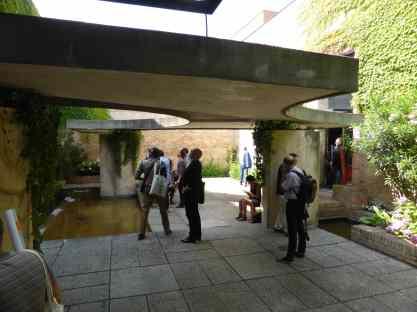 Italian Biennale Pavilion Courtyard, Venice by Carlo Scarpa 04_Stephen Varady photo ©
