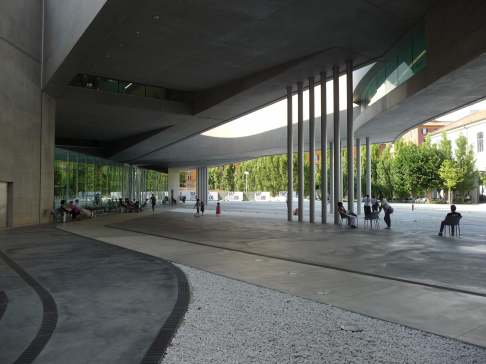 MAXXI, Rome by Zaha Hadid 13_Stephen Varady Photo ©