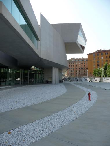 MAXXI, Rome by Zaha Hadid 20_Stephen Varady Photo ©