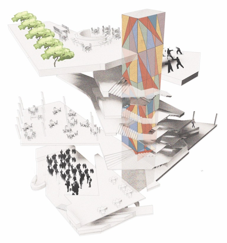LSE Student Centre by O'Donnell Tuomey_perspective