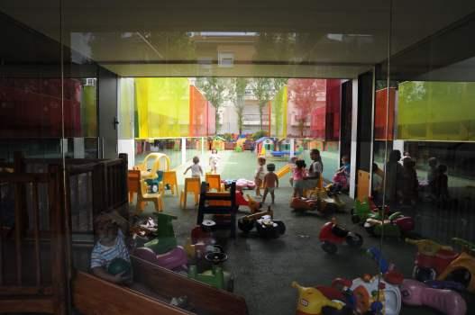 'Els Colors' Nursery, Manlleu, Spain by RCR Arquitectes 28_Stephen Varady photo ©