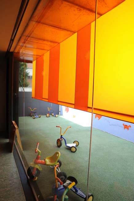 'Els Colors' Nursery, Manlleu, Spain by RCR Arquitectes 34_Stephen Varady photo ©
