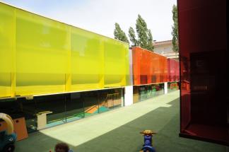 'Els Colors' Nursery, Manlleu, Spain by RCR Arquitectes 35_Stephen Varady photo ©