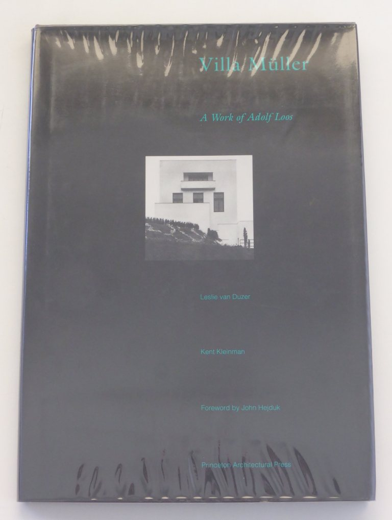 Villa Müller, A Work of Adolf Loos by Leslie van Duzer & Kent Kleinman - Princeton Architectural Press, 1994