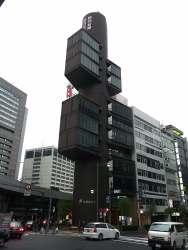 Shizuoka Press & Broadcast Centre by Kenzo Tange 01_Stephen Varady Photo ©