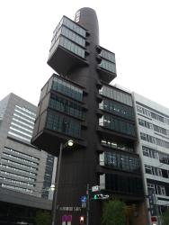 Shizuoka Press & Broadcast Centre by Kenzo Tange 03_Stephen Varady Photo ©