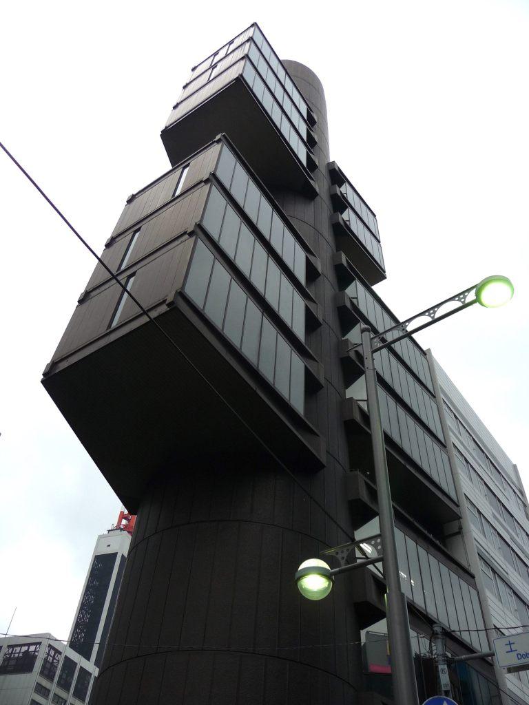 Shizuoka Press & Broadcast Centre by Kenzo Tange 08_Stephen Varady Photo ©